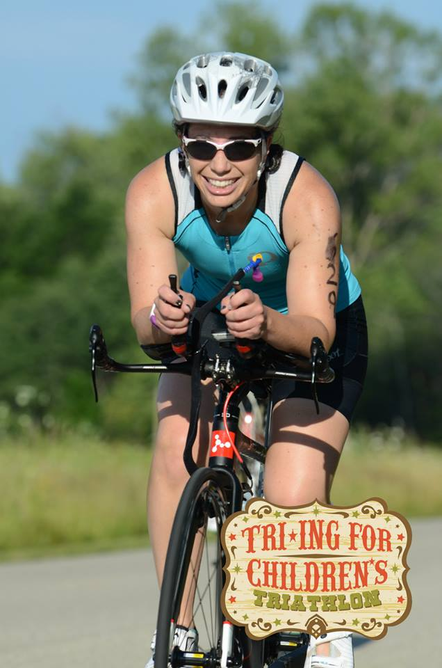 "Triathlete Debra Vaughan calls this photo ""happy bike."" (c) 2015 Focal Flame Photography 