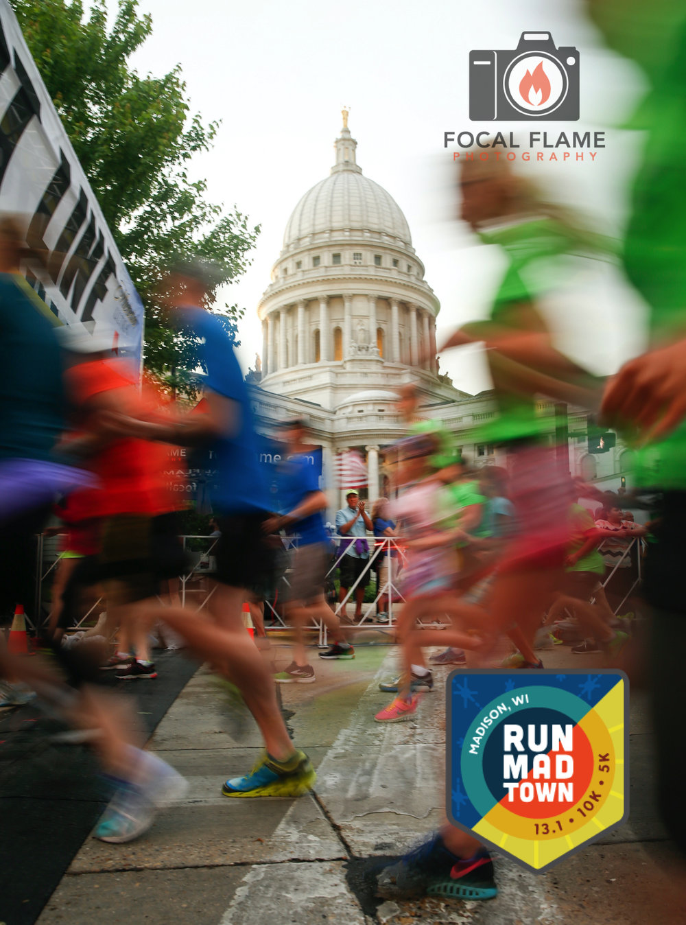 Run Madtown is a vibrant celebration of summer in Madison, Wisconsin. Photo (c) 2016 Focal Flame Photography | Credit: Larry Iles