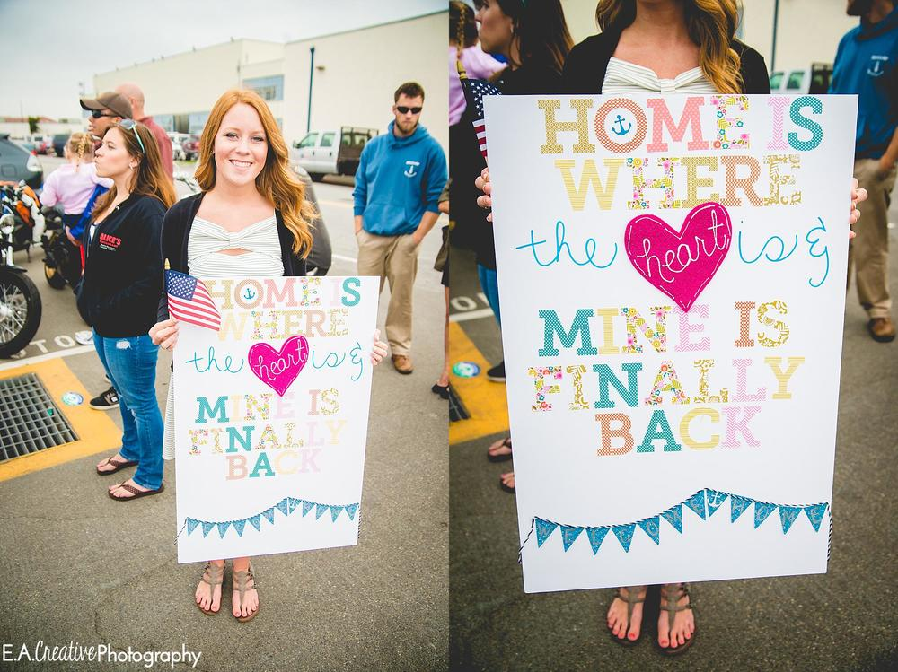 The minute I saw Krista's sign I knew she was a Pinterest fan just like me! How cute is this?