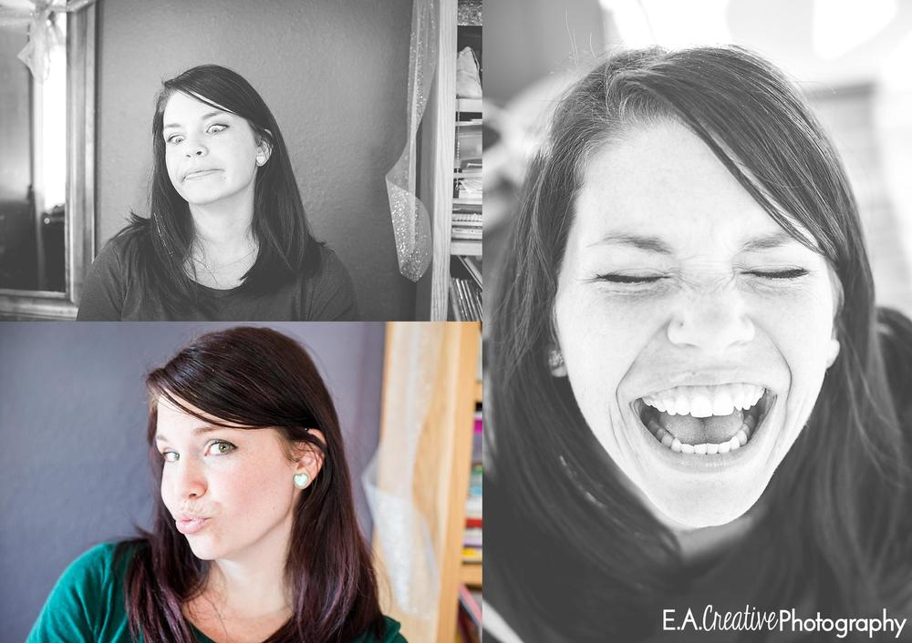 Ha! These pictures are *so* Kara!!! Love her laugh and funny faces!