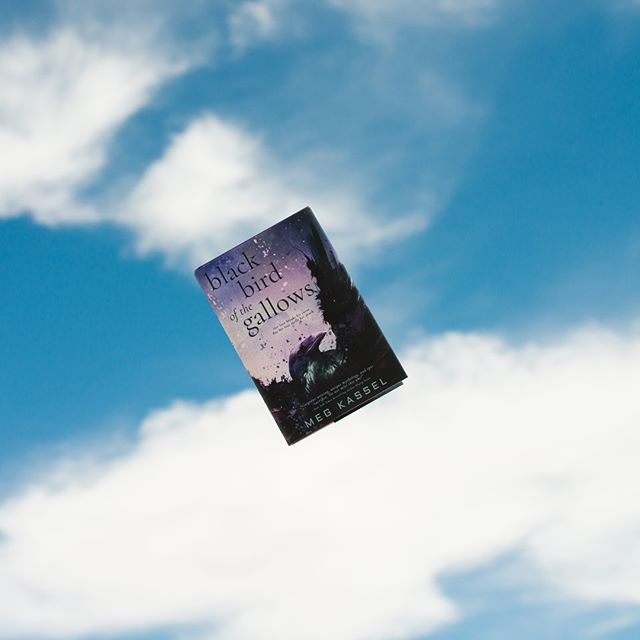 Thanks to @entangledteen for this awesome copy of Black Bird Gallows by @seemegwrite 💜 See the comments for the description. Do you have your copy? • And thanks to @livethecozylife for being willing to toss this book in the air way too many times so I could get the perfect picture 😂 Yep folks, this is NOT photoshopped! • ❣Don't forget to join the fun by tagging #createexploreread 📷