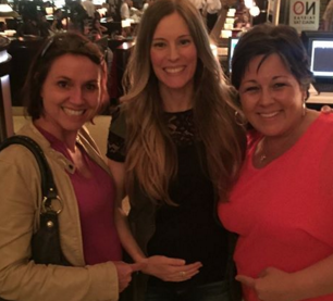 Erin H. with Conceivable Founder Kirsten Karchmer and friend Loriana.