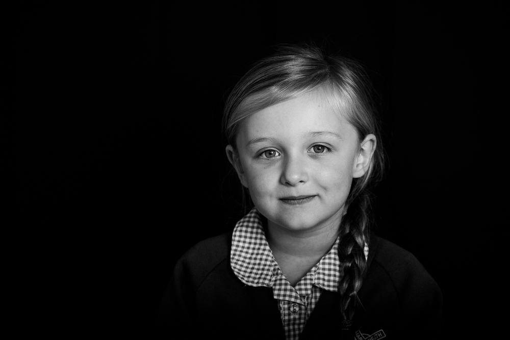 Staffordshire School Portrait Black and White Photography by school photographer Jenny Harper