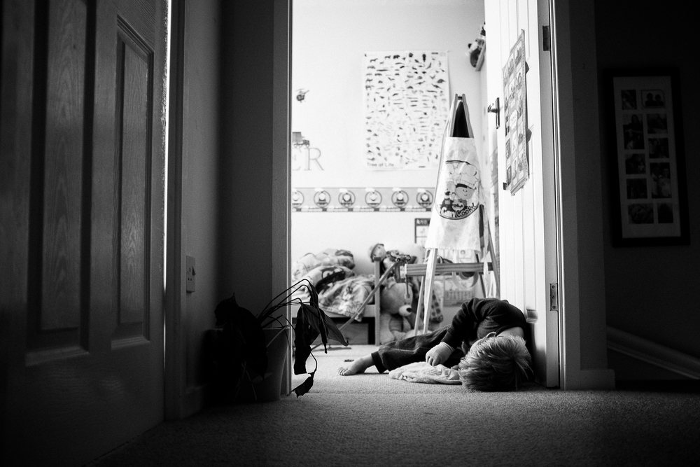 Morning Person -  Home, Stoke-on-Trent - August 2014