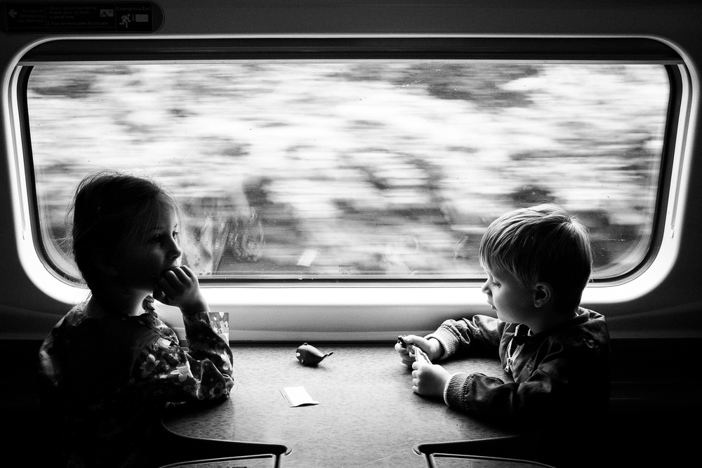Travel -  Train to Manchester - August 2014