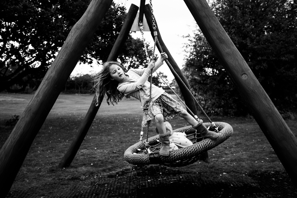 Swing  - Meir Heath, Staffordshire - September 2014