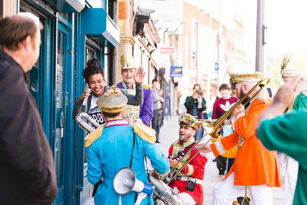 Day 40 - Mr Wilson's Second Line at The Big Feast in Stoke