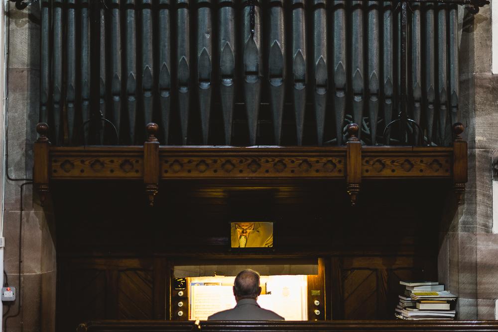 Day 41 - Organ player at my next wedding