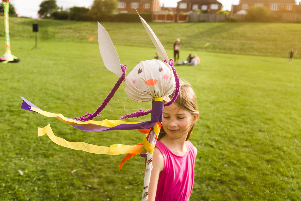 Day 48 - Creating Lily the Hare at the Grand Cross Fayre