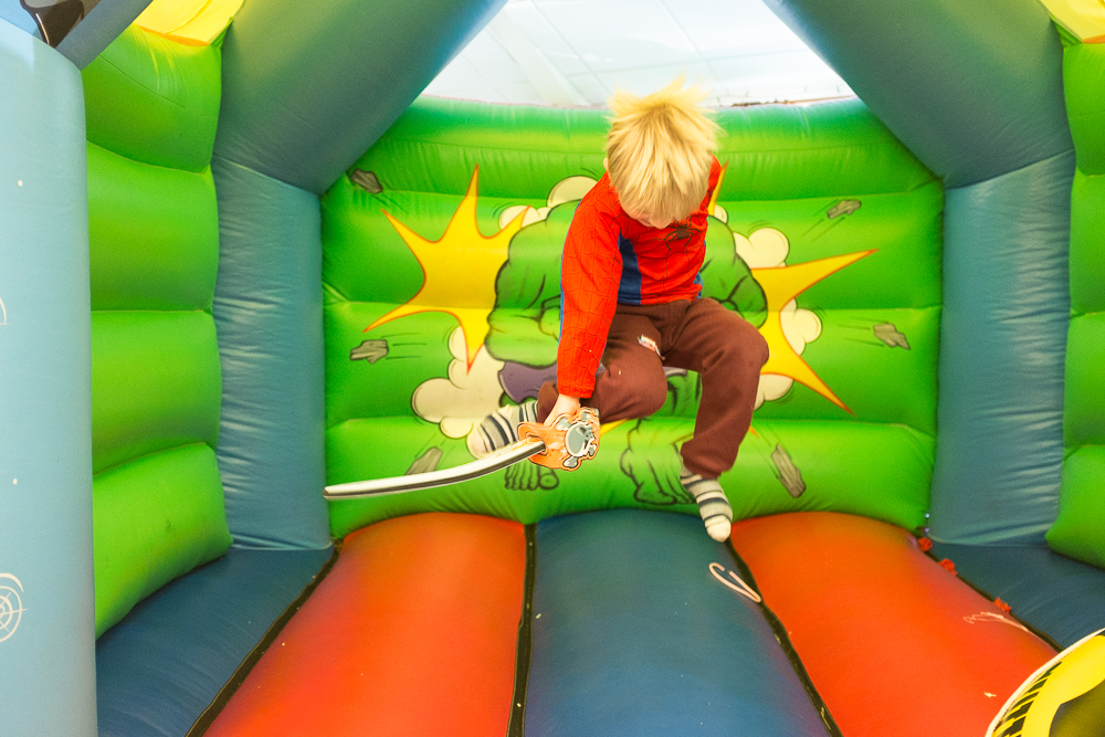 Day 49 - Birthday party bouncing