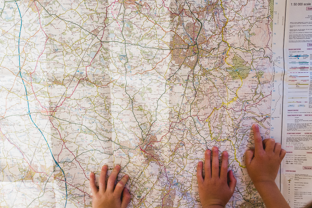 Day 50 - Map reading and adventure planning