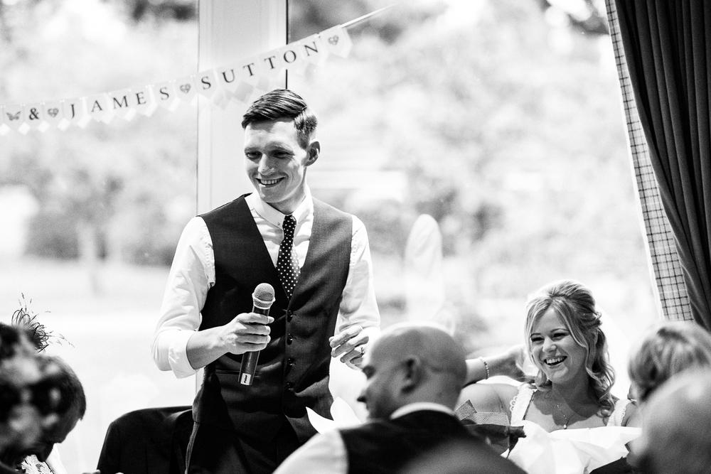 Autumn Documentary Wedding Photography at Catholic Church and Newcastle-under-Lyme Golf Club - Jenny Harper-93.jpg