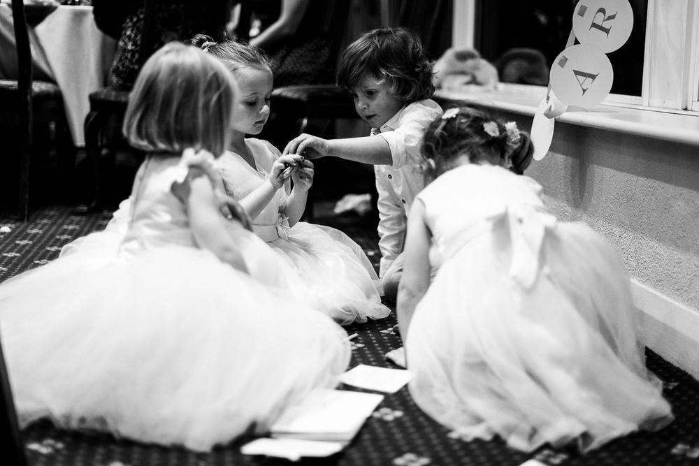 Autumn Documentary Wedding Photography at Catholic Church and Newcastle-under-Lyme Golf Club - Jenny Harper-105.jpg