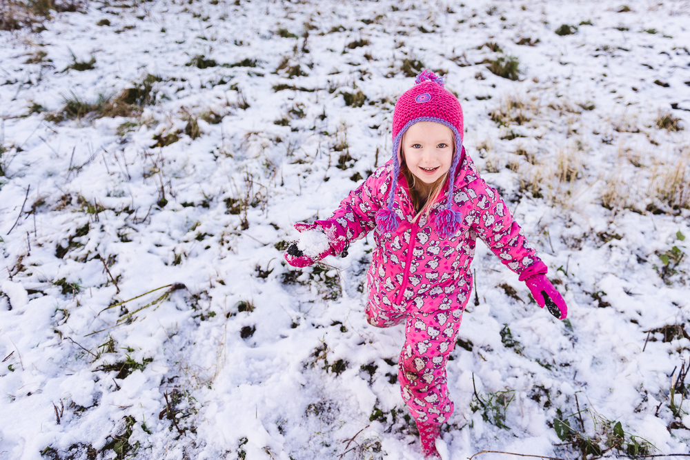 Staffordshire Outdoor Documentary Child Portrait Photography by Jenny Harper Snow Snowballs Hello Kitty-1.jpg