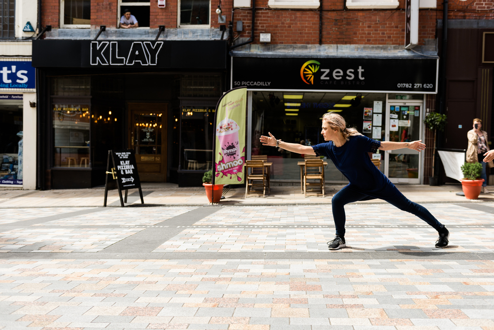 Documentary Photographs Dance Photography - Restoke - Big Dance - Dancing in the Street -  Picadilly, Hanley - Jenny Harper-6.jpg