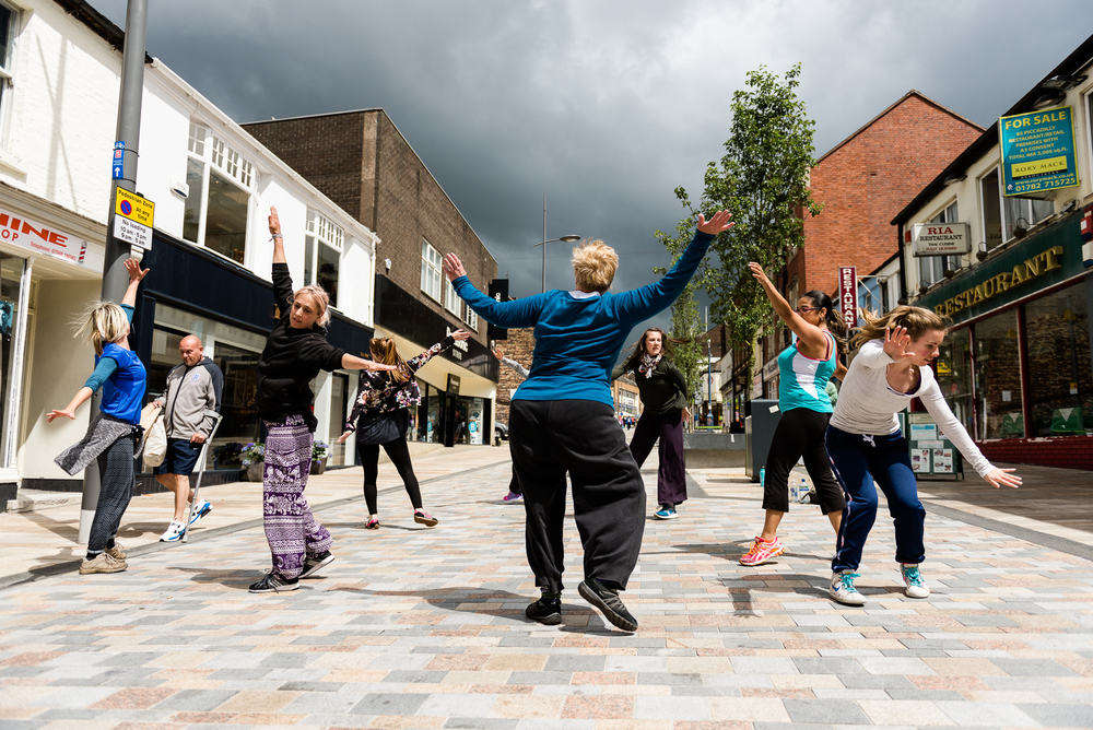 Restoke - Big Dance Rehearsal - Dance Fridays - Dancing in the Street - The Regent Theatre,  Picadilly, Hanley - Documentary Photography by Jenny Harper-15.jpg