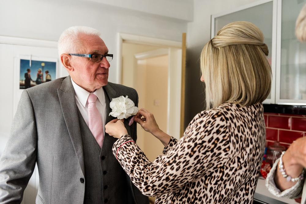 Smart Stylish Staffordshire Documentary Wedding Photography Church Weston Hall Stafford - Jenny Harper Photography-13.jpg