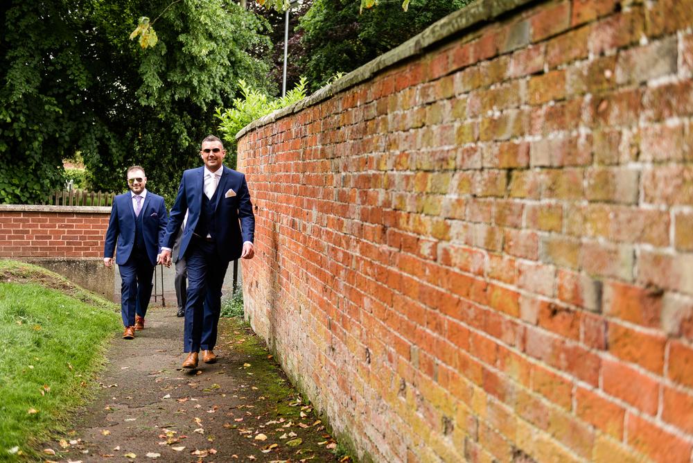 Smart Stylish Staffordshire Documentary Wedding Photography Church Weston Hall Stafford - Jenny Harper Photography-24.jpg