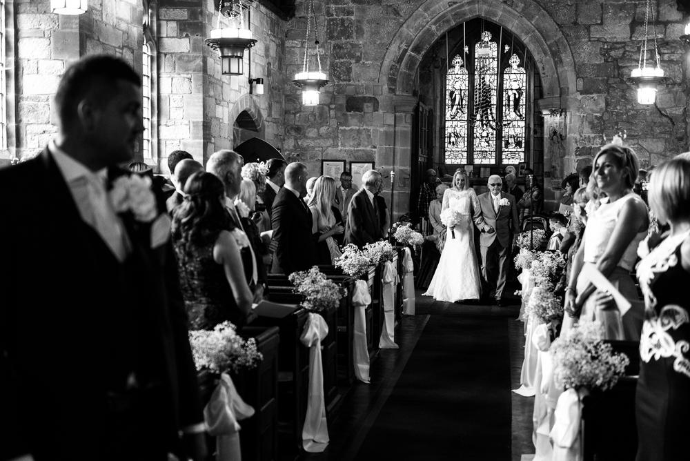 Smart Stylish Staffordshire Documentary Wedding Photography Church Weston Hall Stafford - Jenny Harper Photography-27.jpg