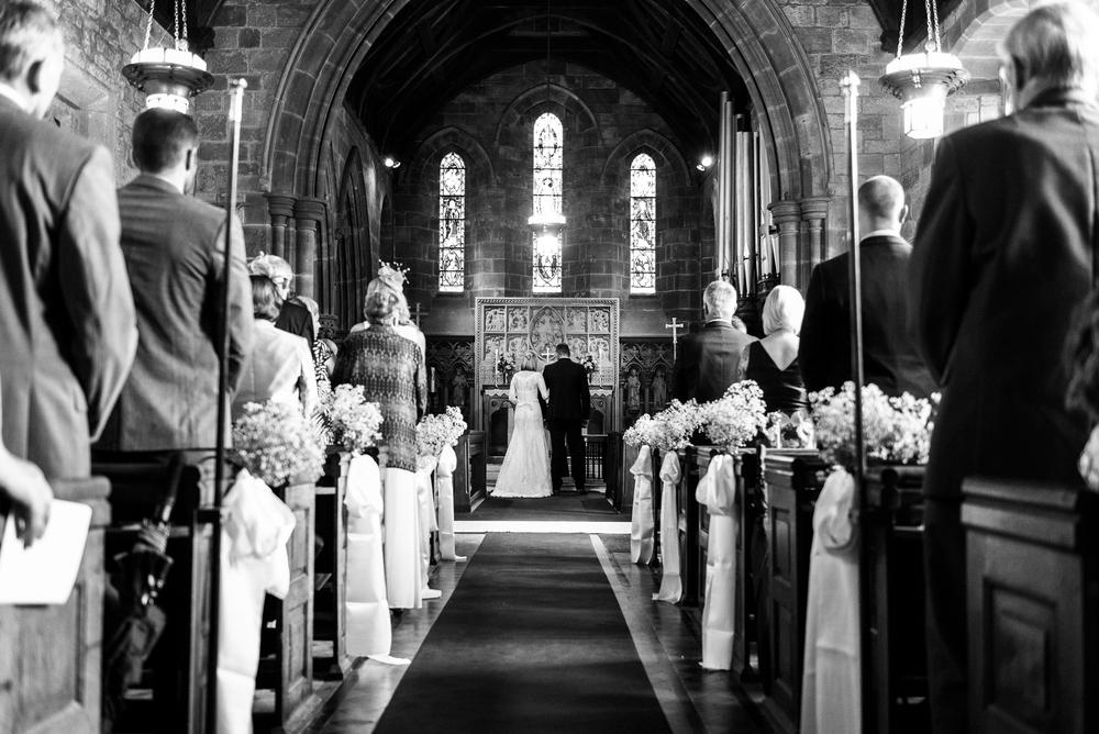 Smart Stylish Staffordshire Documentary Wedding Photography Church Weston Hall Stafford - Jenny Harper Photography-35.jpg