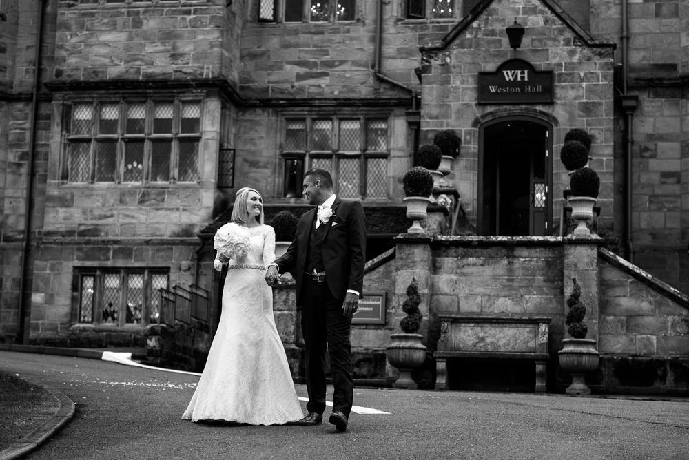 Smart Stylish Staffordshire Documentary Wedding Photography Church Weston Hall Stafford - Jenny Harper Photography-46.jpg