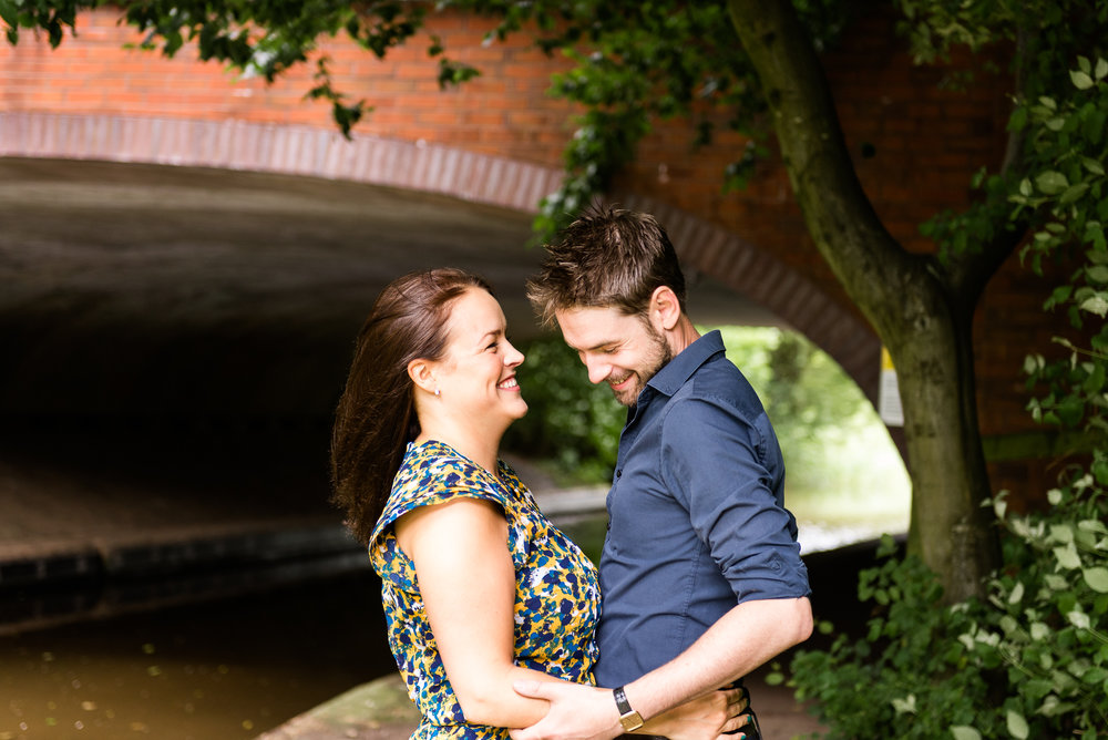 Pre-Wedding Session Engagement Photos Couple Shoot English countryside Canal - Jenny Harper Photography-2.jpg