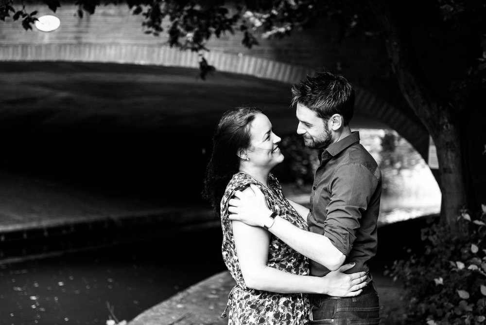 Pre-Wedding Session Engagement Photos Couple Shoot English countryside Canal - Jenny Harper Photography-3.jpg
