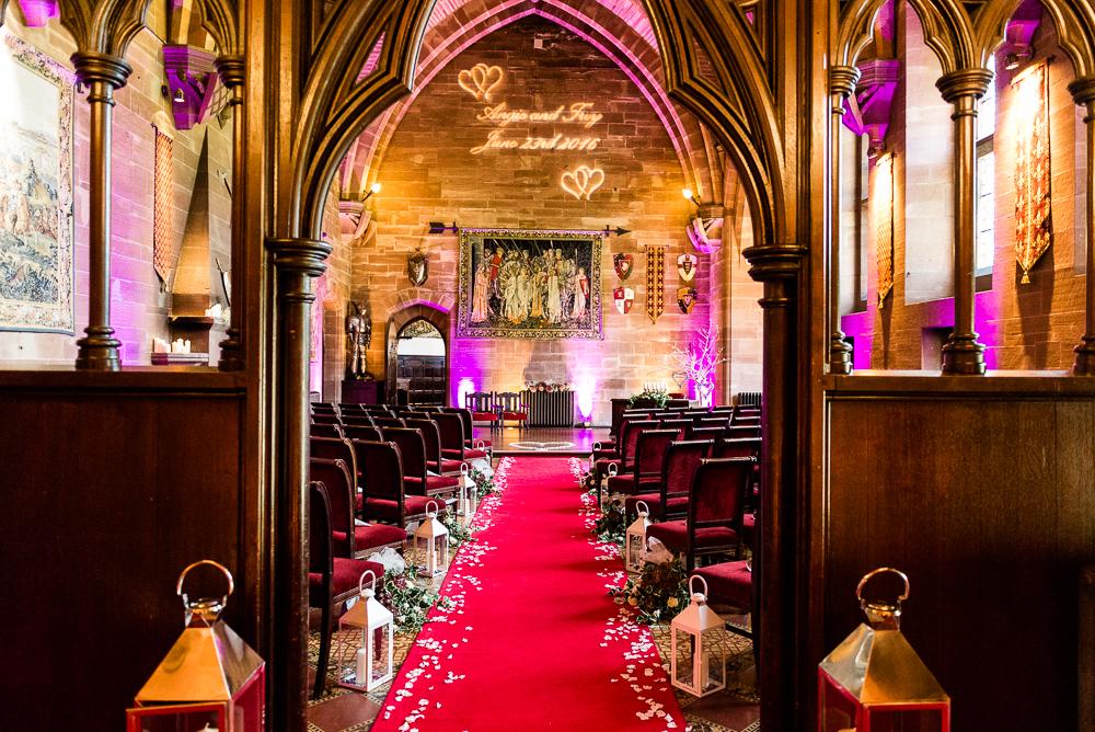 Castle Wedding at Peckforton Castle, Cheshire Owl Falconry Ian Stuart Bride Bandeoke - Jenny Harper Photography-1.jpg