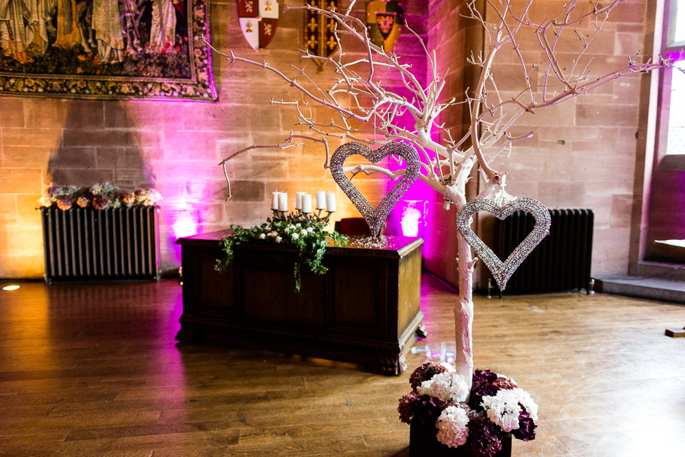 Castle Wedding at Peckforton Castle, Cheshire Owl Falconry Ian Stuart Bride Bandeoke - Jenny Harper Photography-3.jpg