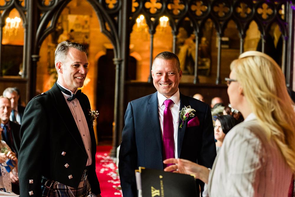 Castle Wedding at Peckforton Castle, Cheshire Owl Falconry Ian Stuart Bride Bandeoke - Jenny Harper Photography-30.jpg