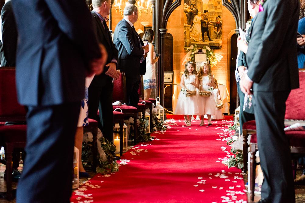 Castle Wedding at Peckforton Castle, Cheshire Owl Falconry Ian Stuart Bride Bandeoke - Jenny Harper Photography-31.jpg