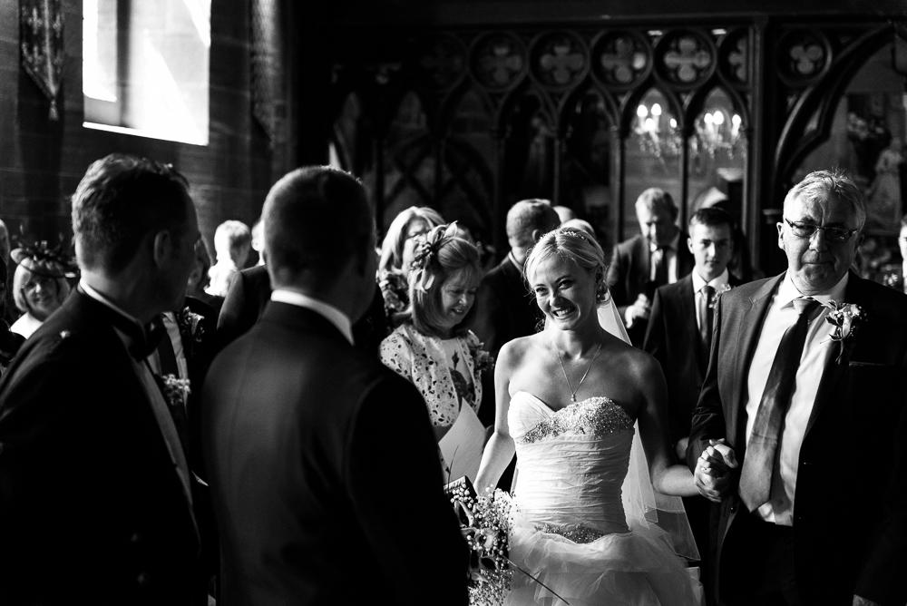 Castle Wedding at Peckforton Castle, Cheshire Owl Falconry Ian Stuart Bride Bandeoke - Jenny Harper Photography-33.jpg