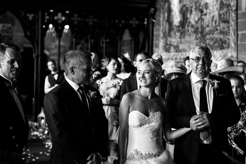 Castle Wedding at Peckforton Castle, Cheshire Owl Falconry Ian Stuart Bride Bandeoke - Jenny Harper Photography-34.jpg