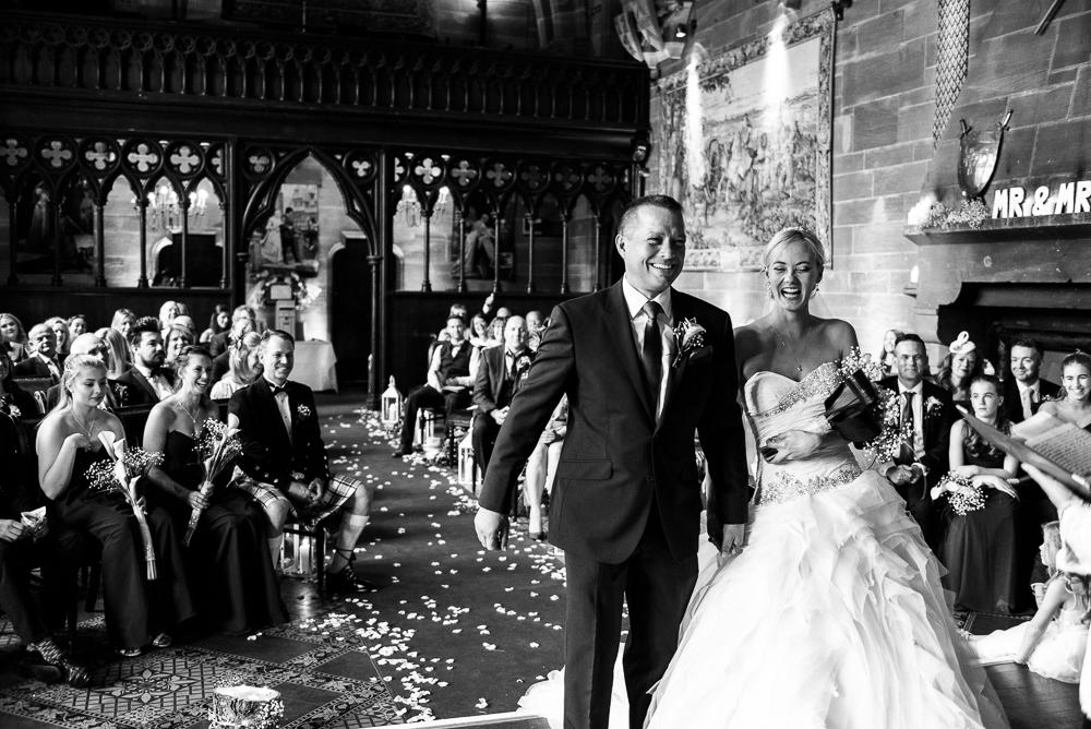 Castle Wedding at Peckforton Castle, Cheshire Owl Falconry Ian Stuart Bride Bandeoke - Jenny Harper Photography-38.jpg