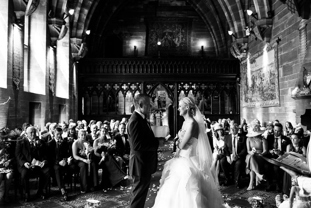 Castle Wedding at Peckforton Castle, Cheshire Owl Falconry Ian Stuart Bride Bandeoke - Jenny Harper Photography-39.jpg