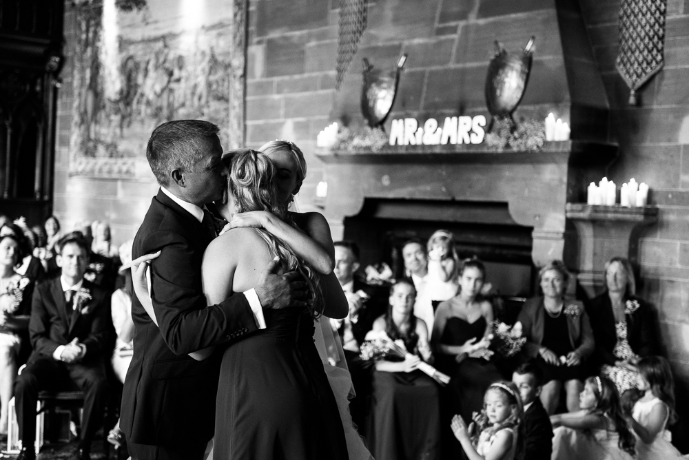 Castle Wedding at Peckforton Castle, Cheshire Owl Falconry Ian Stuart Bride Bandeoke - Jenny Harper Photography-45.jpg