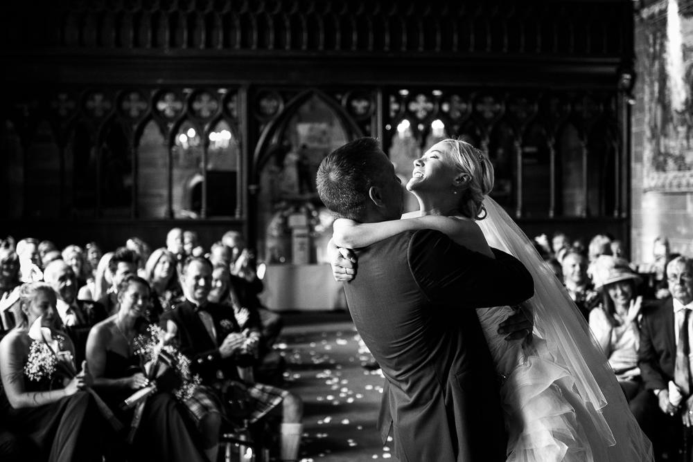 Castle Wedding at Peckforton Castle, Cheshire Owl Falconry Ian Stuart Bride Bandeoke - Jenny Harper Photography-47.jpg