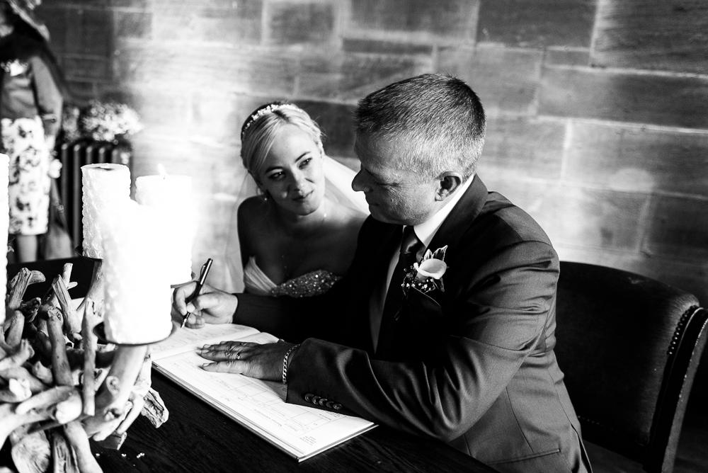 Castle Wedding at Peckforton Castle, Cheshire Owl Falconry Ian Stuart Bride Bandeoke - Jenny Harper Photography-48.jpg