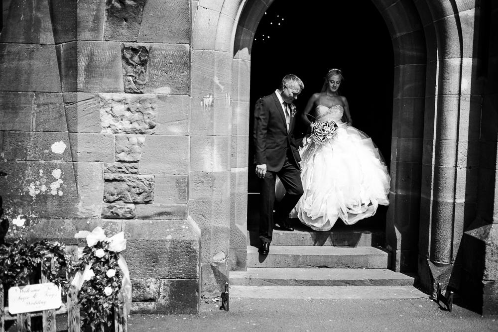 Castle Wedding at Peckforton Castle, Cheshire Owl Falconry Ian Stuart Bride Bandeoke - Jenny Harper Photography-50.jpg