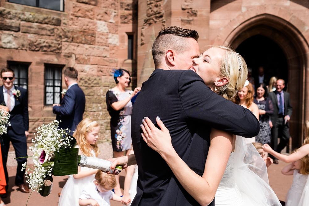 Castle Wedding at Peckforton Castle, Cheshire Owl Falconry Ian Stuart Bride Bandeoke - Jenny Harper Photography-51.jpg