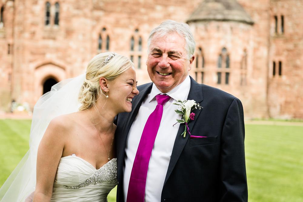 Castle Wedding at Peckforton Castle, Cheshire Owl Falconry Ian Stuart Bride Bandeoke - Jenny Harper Photography-53.jpg