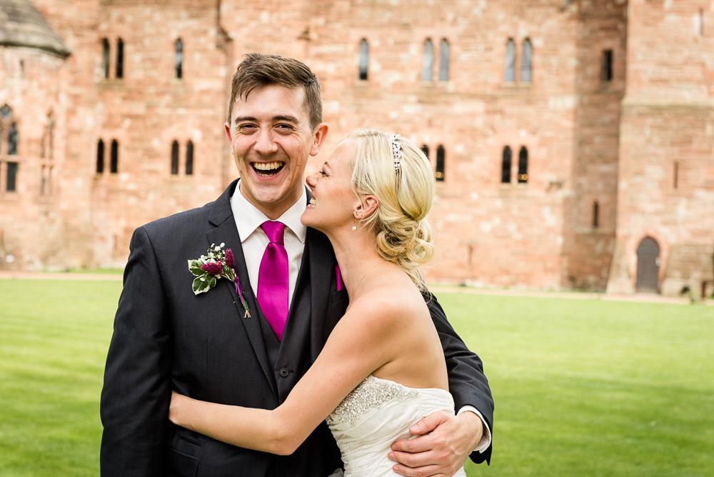 Castle Wedding at Peckforton Castle, Cheshire Owl Falconry Ian Stuart Bride Bandeoke - Jenny Harper Photography-59.jpg