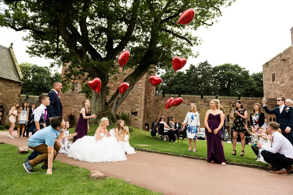 Castle Wedding at Peckforton Castle, Cheshire Owl Falconry Ian Stuart Bride Bandeoke - Jenny Harper Photography-61.jpg