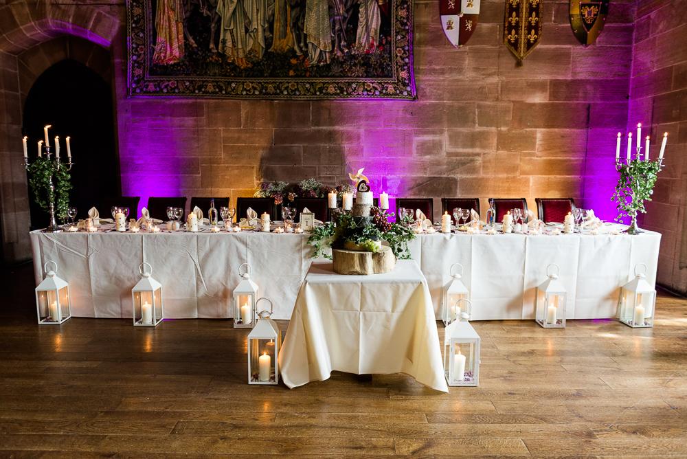 Castle Wedding at Peckforton Castle, Cheshire Owl Falconry Ian Stuart Bride Bandeoke - Jenny Harper Photography-66.jpg