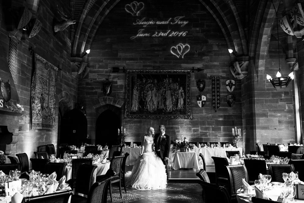 Castle Wedding at Peckforton Castle, Cheshire Owl Falconry Ian Stuart Bride Bandeoke - Jenny Harper Photography-68.jpg