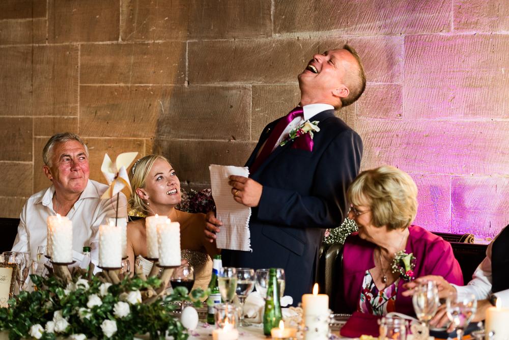 Castle Wedding at Peckforton Castle, Cheshire Owl Falconry Ian Stuart Bride Bandeoke - Jenny Harper Photography-79.jpg