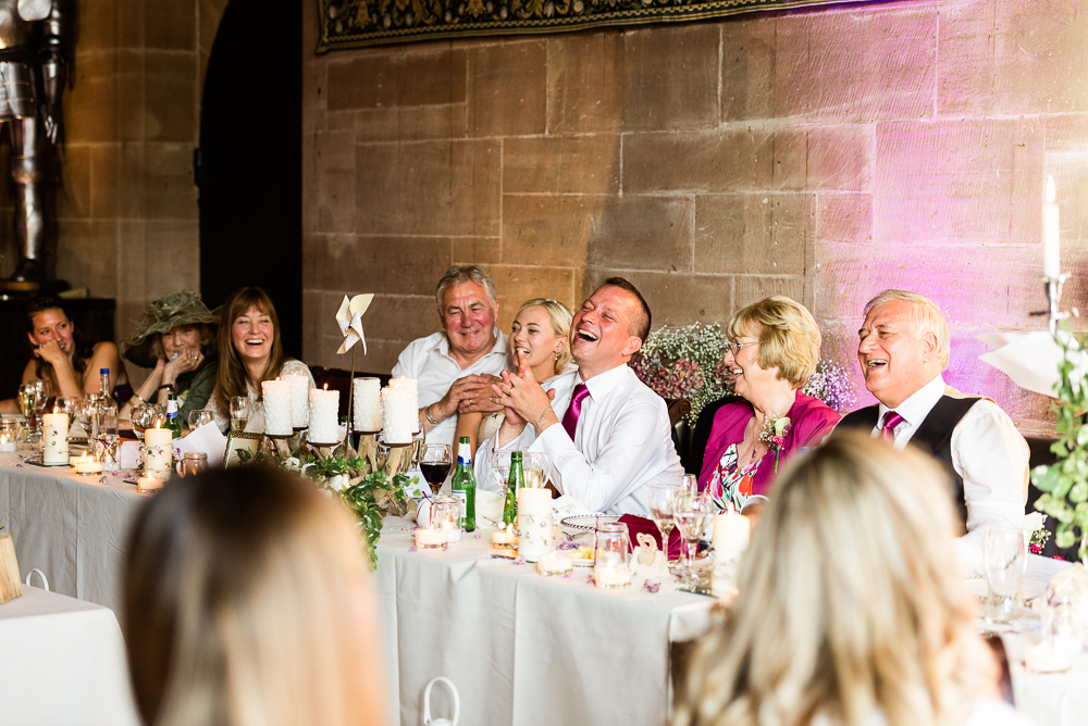 Castle Wedding at Peckforton Castle, Cheshire Owl Falconry Ian Stuart Bride Bandeoke - Jenny Harper Photography-81.jpg