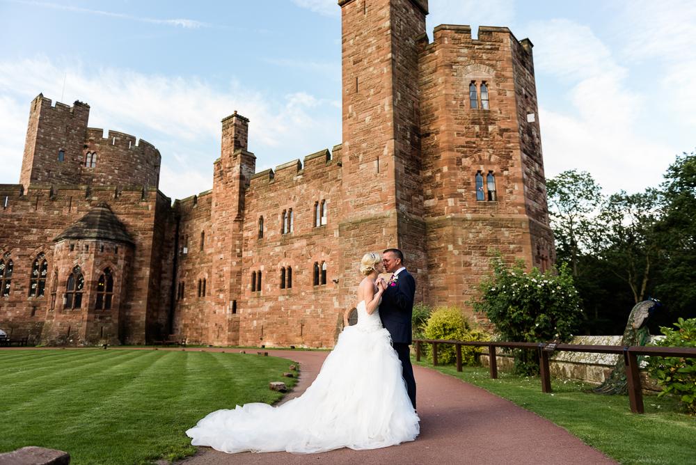 Castle Wedding at Peckforton Castle, Cheshire Owl Falconry Ian Stuart Bride Bandeoke - Jenny Harper Photography-86.jpg