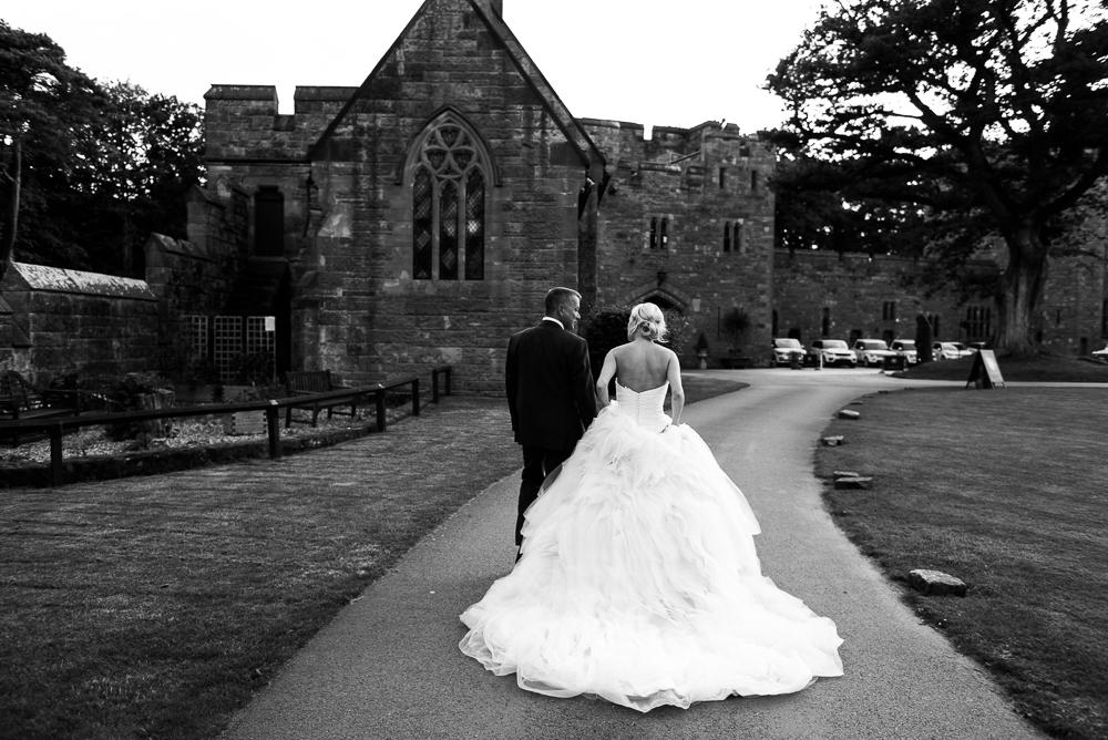 Castle Wedding at Peckforton Castle, Cheshire Owl Falconry Ian Stuart Bride Bandeoke - Jenny Harper Photography-88.jpg