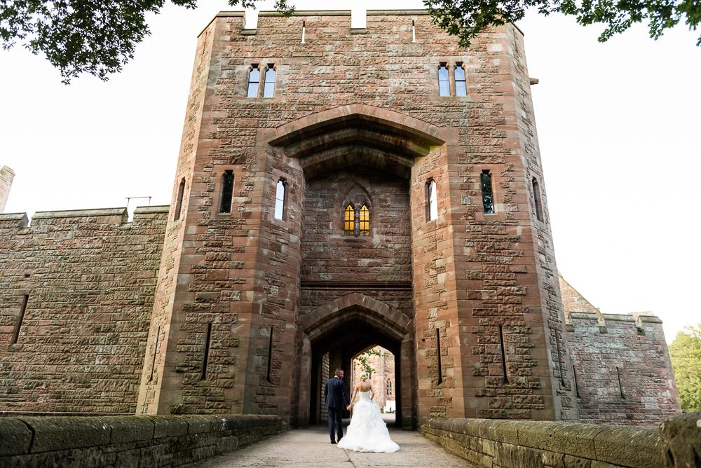 Castle Wedding at Peckforton Castle, Cheshire Owl Falconry Ian Stuart Bride Bandeoke - Jenny Harper Photography-92.jpg